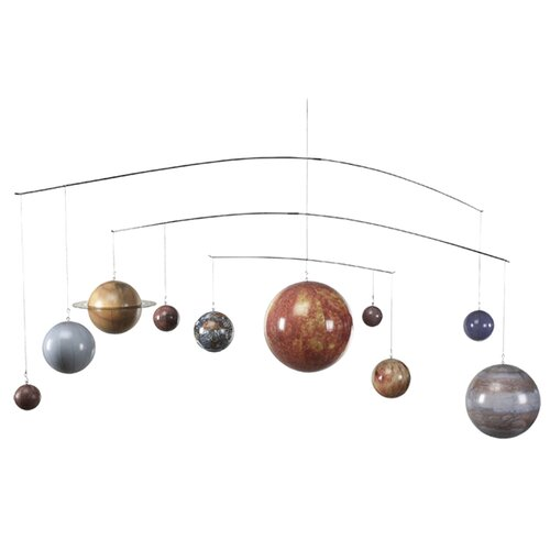 Authentic Models Solar System Mobile Wall Décor