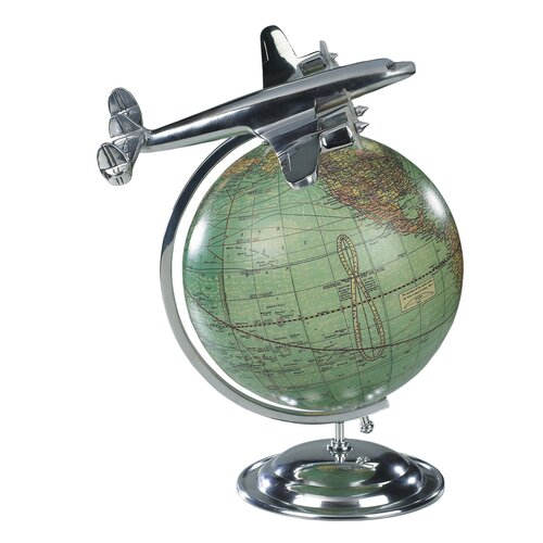 Authentic Models On Top Of The World Globe