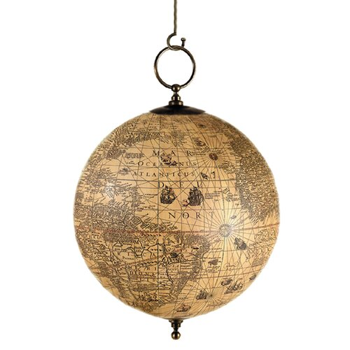 Authentic Models Hondius Terrestrial Hanging Globe