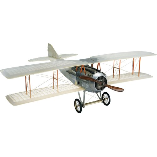 Authentic Models Transparent Spad Miniature Model Plane