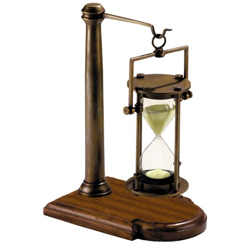 Authentic Models 30 Minute Hourglass on Stand