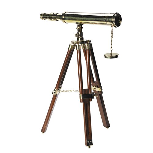 Authentic Models 10x Magnification Tabletop Decorative Telescope