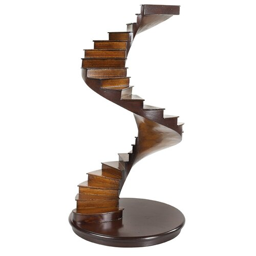 Authentic Models Spiral Stairs Figurine