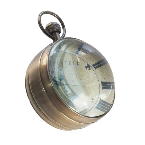 Authentic Models Eye of Time Library Mantle Wall Clock