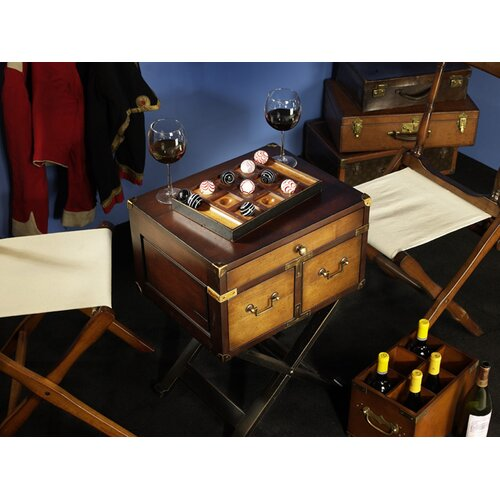Authentic Models Venetian Style Tic-Tac-Toe Game Board