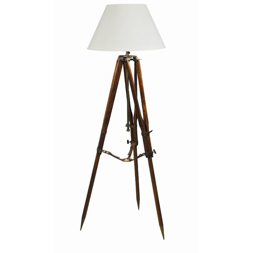 Authentic Models Campaign Tripod Floor Lamp