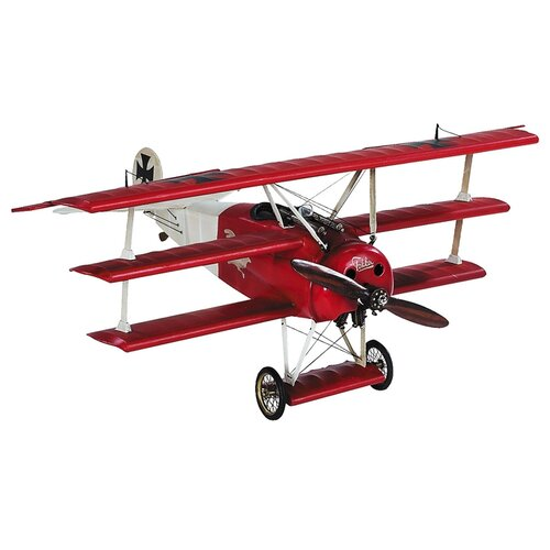 Desktop Fokker Miniature Model Plane