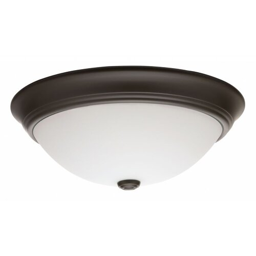 Lithonia Lighting Decor Round 1 Light 55W Flush Mount