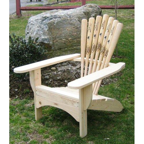 Ski Chair Base Ball Bat Adirondack Chair