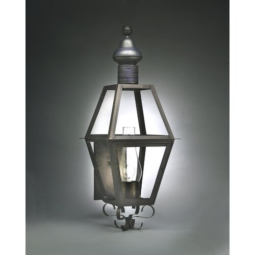 Northeast Lantern Boston 3 Candelabra Sockets Wall Lantern