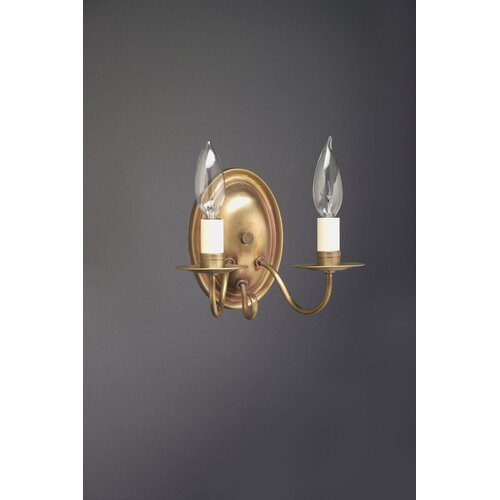 Northeast Lantern Sconce 2 Light Candelabra Socket