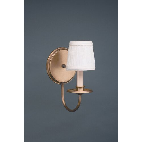 Northeast Lantern 1 Light Candelabra Socket  Wall Sconce with Shade