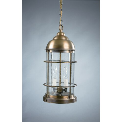 Northeast Lantern Nautical Candelabra Sockets 2 Light  Hanging Lantern