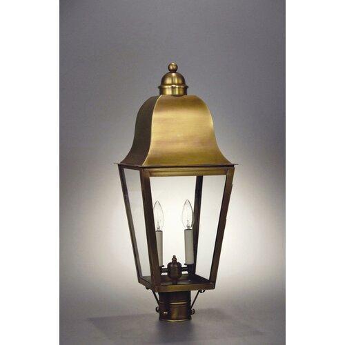 Northeast Lantern Imperial 2 Light Outdoor Post Lantern