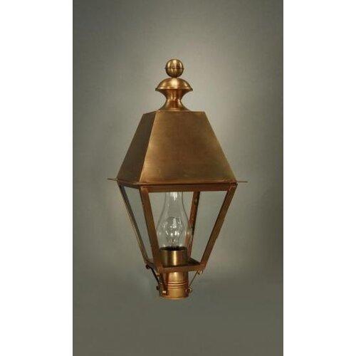 Northeast Lantern Boston Medium Base Socket with Chimney Wall Lantern