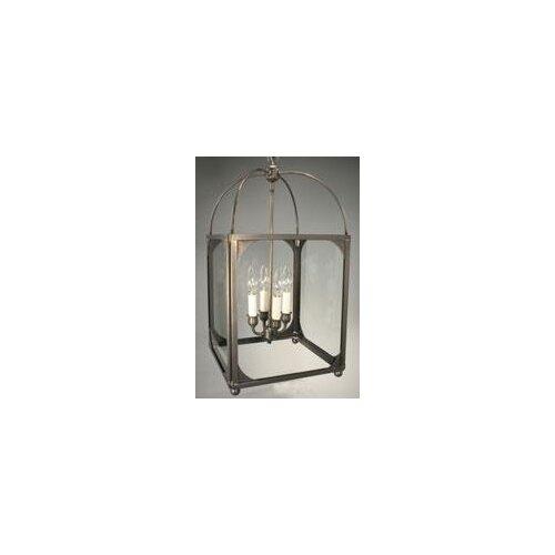 Northeast Lantern Chandelier 4 Light Hanging Lantern