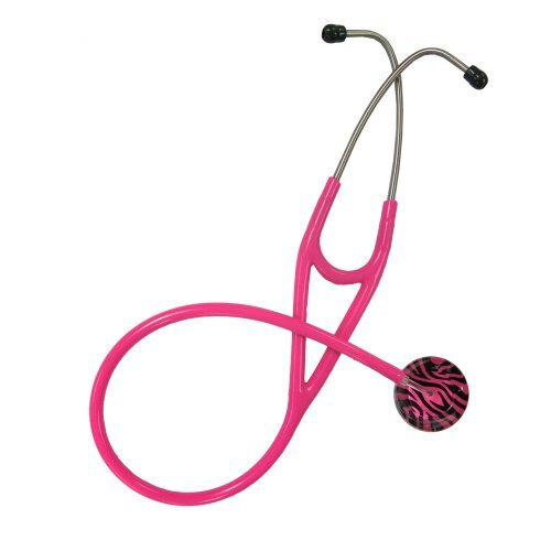 UltraScopes Adult Stethoscope with Zebra Stripes