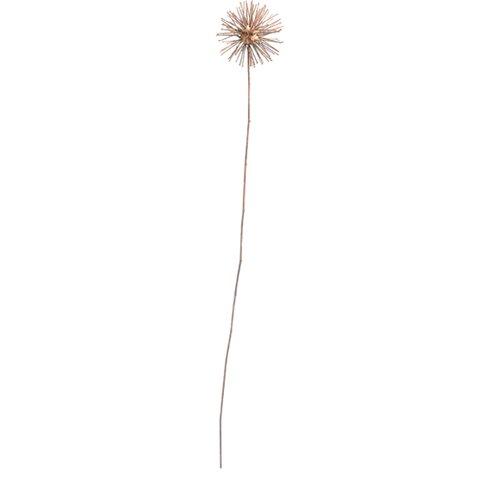 Metal Flower Figurine (Set of 2)