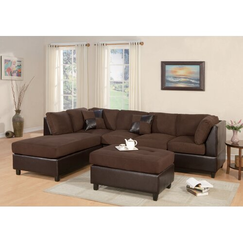 Poundex Bobkona Modular Sectional