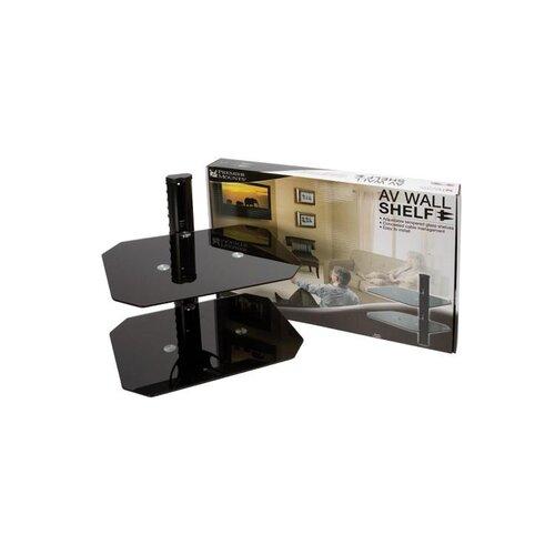 Premier Mounts Component wall shelf - Double