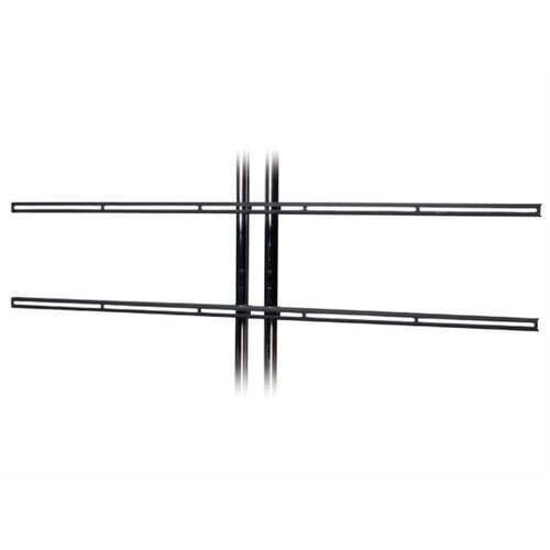 "Premier Mounts Fixed Universal Dual Pole Mount for 37"" - 55"" Flat Panel Screens"