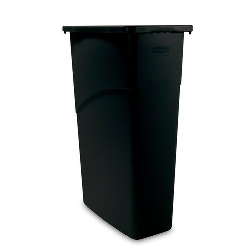 Rubbermaid Commercial Products Slim Jim 23-Gal. Waste Receptacle