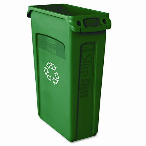 Rubbermaid Commercial Products Slim Jim® 23 Gallon Curbside Recycling Bin