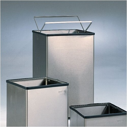 Rubbermaid Commercial Products Large Open Top Stainless Steel Receptacle