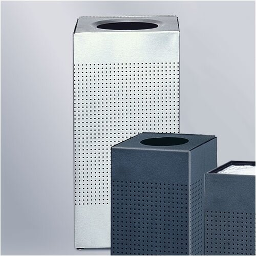 Rubbermaid Commercial Products Designer Silhouettes Medium Waste Receptacle