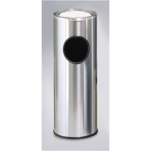 Rubbermaid Commercial Products Metallic Designer Top Ash/Trash Receptacle