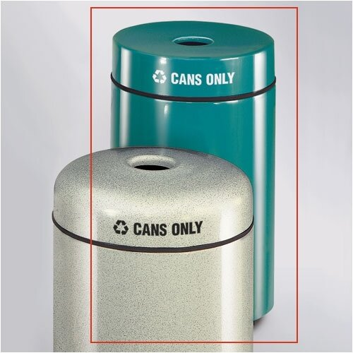 Rubbermaid Commercial Products Barclay Round Industrial Recycling Bin