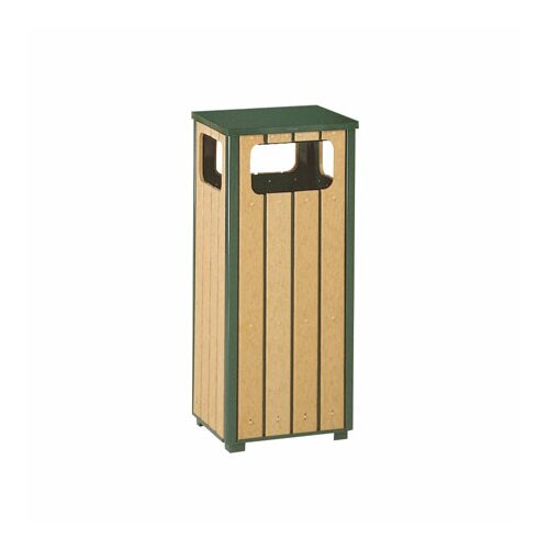 Rubbermaid Commercial Products Regent 50 Series 12 Gallon Sand Top Ash/Trash Receptacle with Side Opening