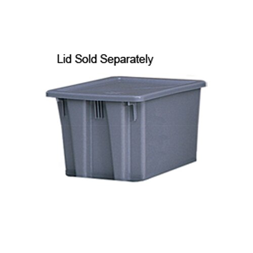 Rubbermaid Commercial Products 19-Gallon Palletote Box in Gray