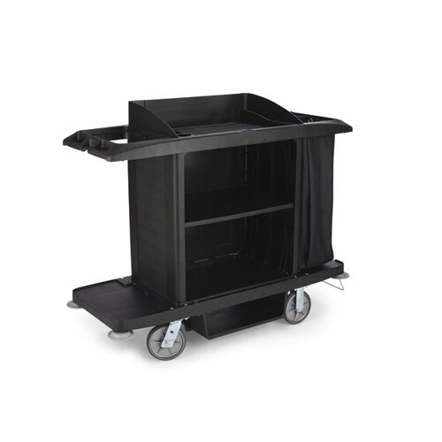 "Rubbermaid Commercial Products 50"" Full-Size Housekeeping Cart"