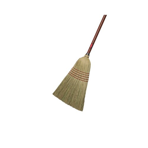 Rubbermaid Commercial Products Standard Corn-Fill Broom in Red