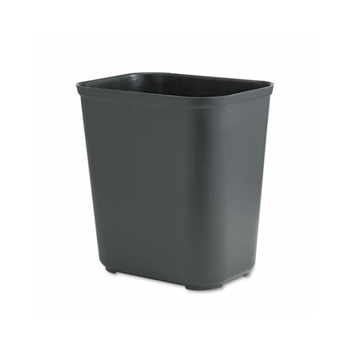 Rubbermaid Commercial Products Fire-Resistant Rectangular Wastebasket