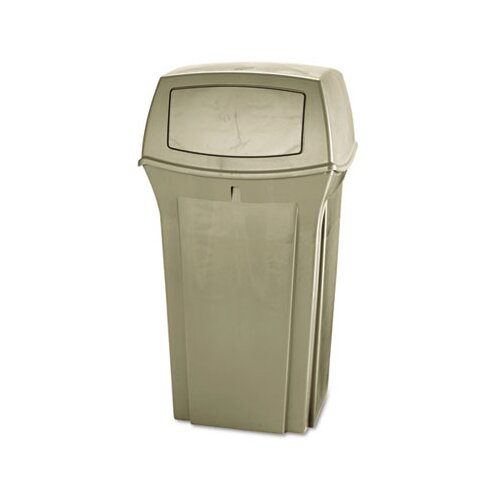 Rubbermaid Commercial Products Ranger Fire-Safe Square Container, 35 Gal