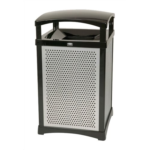 Rubbermaid Commercial Products Perforated Panel Kit for Square Frame - 35 Gallon