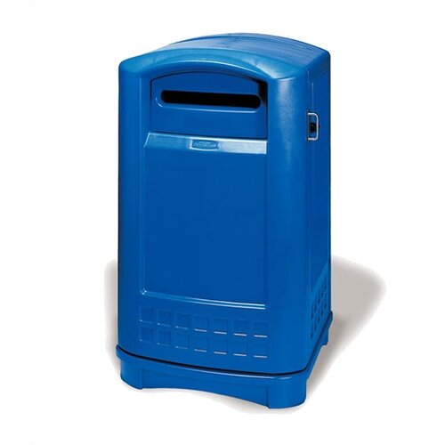Rubbermaid Commercial Products Plaza Paper Industrial Recycling Bin