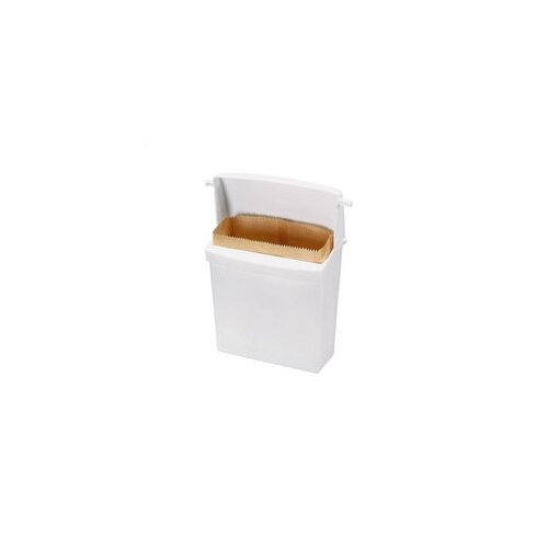 Rubbermaid Commercial Products Sanitary Napkin Receptacle with Rigid Liner