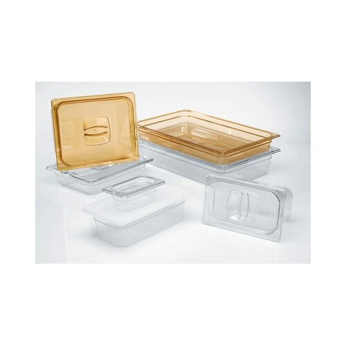 Rubbermaid Commercial Products 3 Space Notched Cold Food Pan Cover
