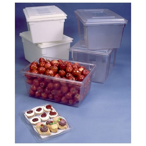 Rubbermaid Commercial Products Food/ Tote Box (2 gallon) Clear