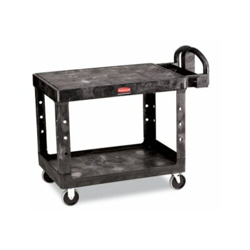 "Rubbermaid Commercial Products 33"" Flat Shelf Utility Cart"