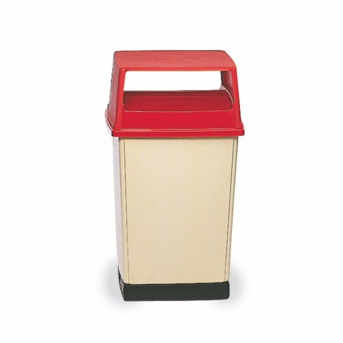 Rubbermaid Commercial Products Indoor/ Outdoor Glutton Container - 56 Gallon