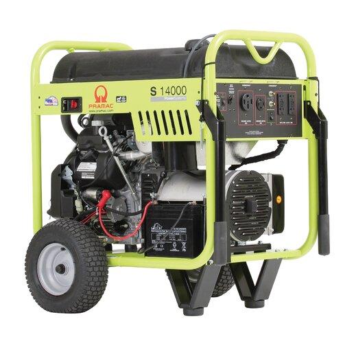14000 Watt Gasoline Generator with Honda GX630 Recoil/Electric Start