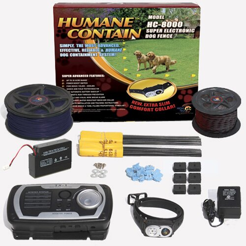 High Tech Pet Extra Value Combo Systems Humane Contain Dog Electric Fence