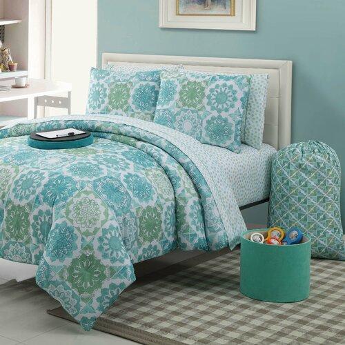 Isadora 9 Piece Extra Twin Comforter Set