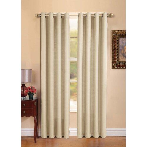 Victoria Classics Manchester Grommet Curtain Panel