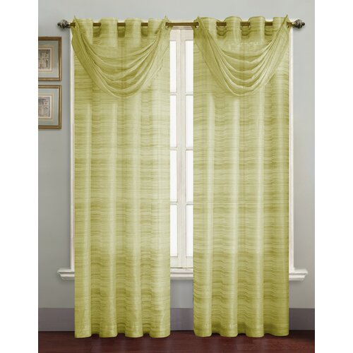 Victoria Classics Bryce Grommet Curtain Single Panel