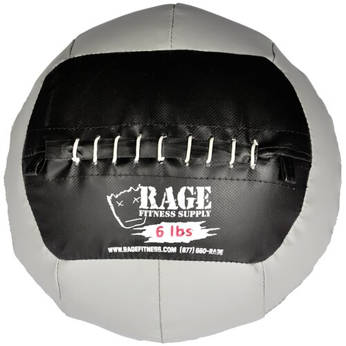 Muscle Driver USA 6 lb Rage Ball in Grey